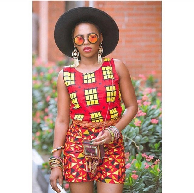 Africa print street style inspiration 1 glam africa African fashion street style