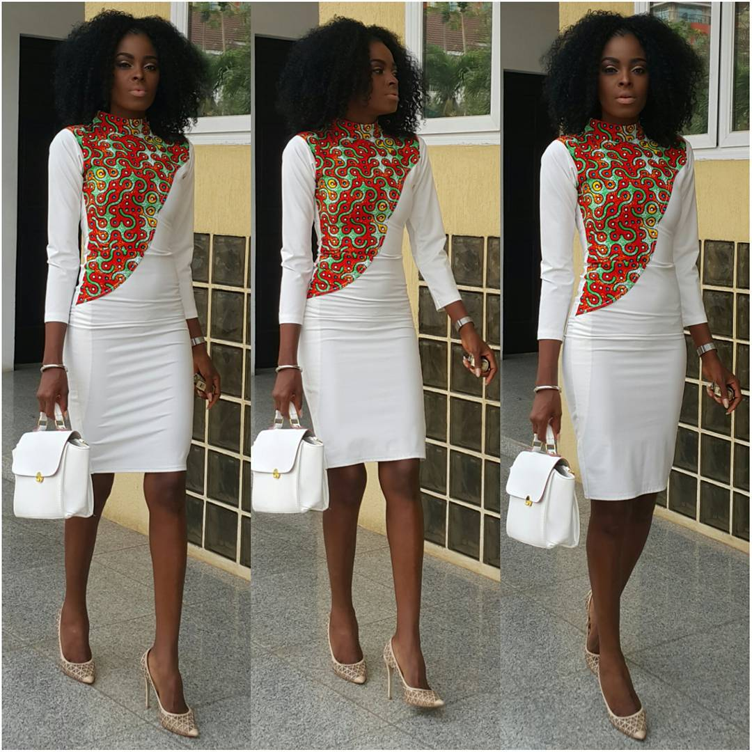 what ghanaian model victoria michaels wore to church
