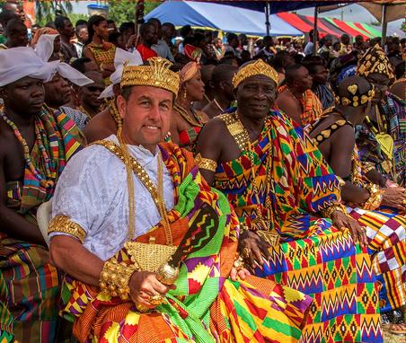 Photos From The 2015 Ewe Kente Festival Ghana Glam Africa