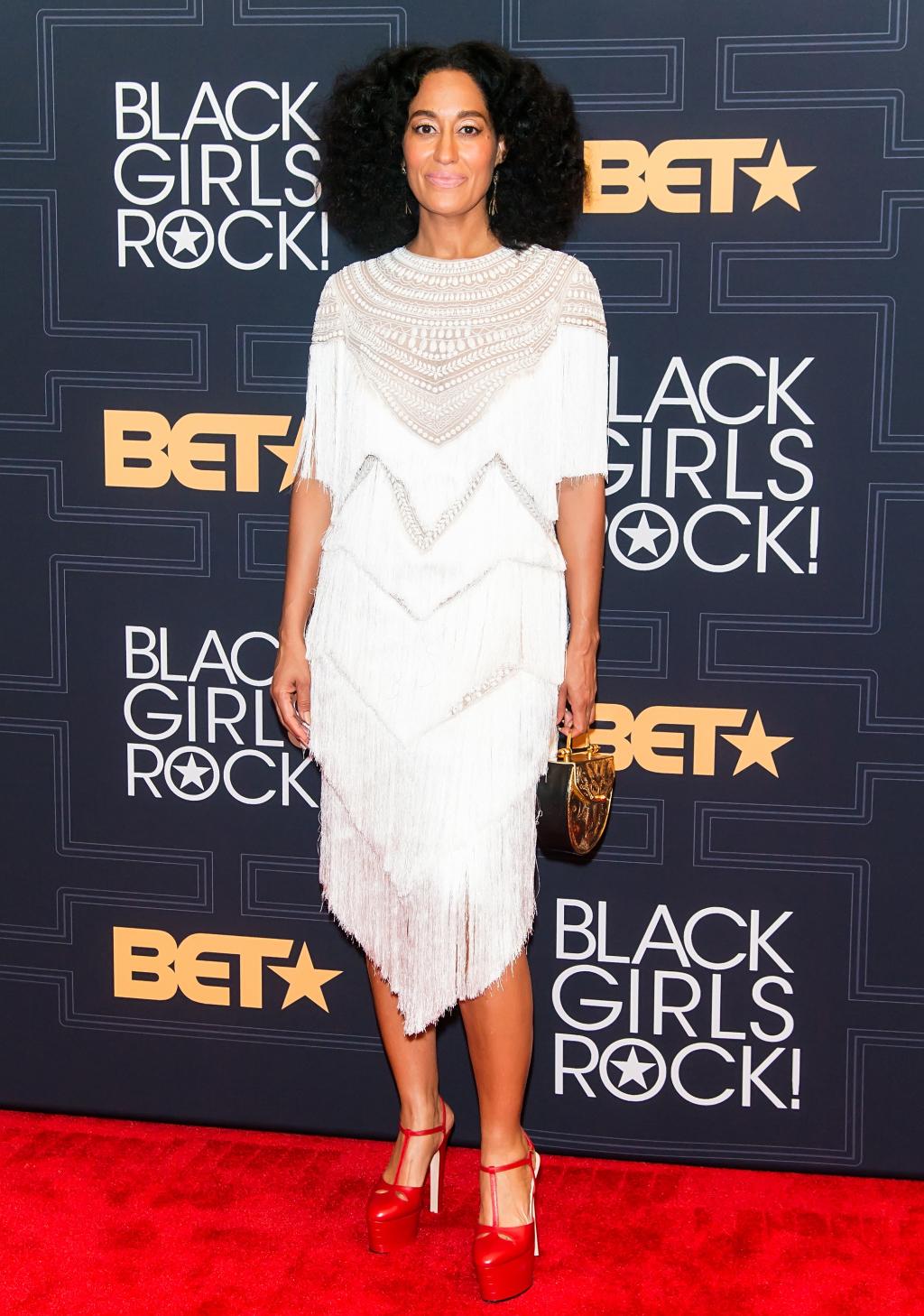 NEWARK, NEW JERSEY - APRIL 01: Actress BET Black Girls Rock! 2016 host Tracee Ellis Ross attends BET Black Girls Rock! 2016 at New Jersey Performing Arts Center on April 1, 2016 in Newark, New Jersey. (Photo by Gilbert Carrasquillo/FilmMagic)