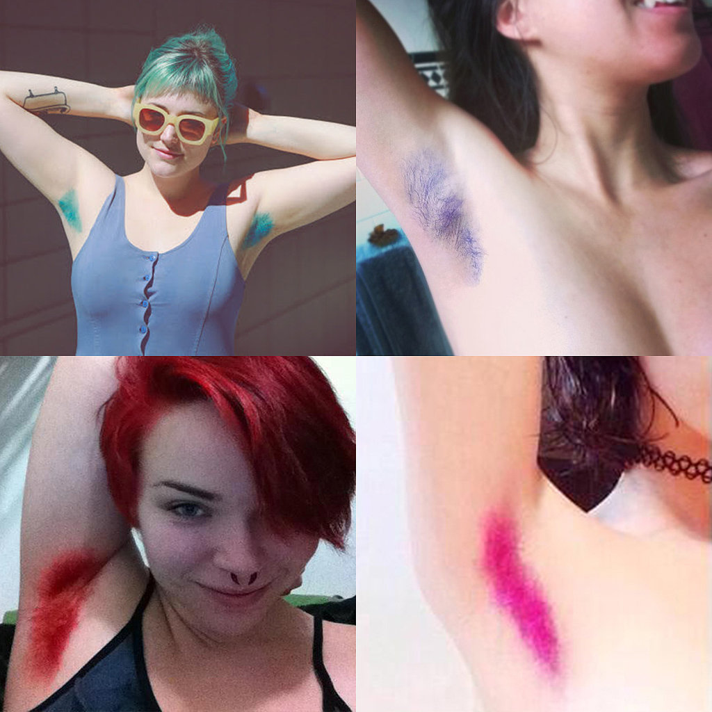 Could Dyed Armpit Hair Become A Trend This Year Glam Africa