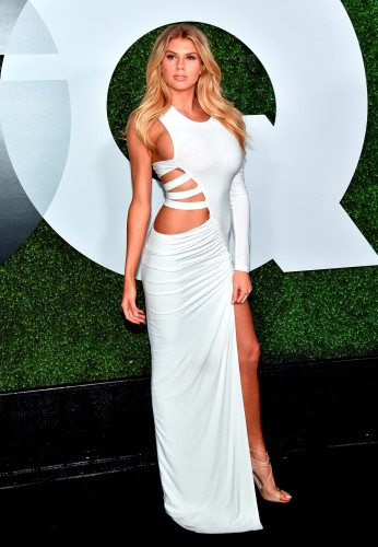 LOS ANGELES, CA - DECEMBER 03: Model Charlotte McKinney attends the GQ 20th Anniversary Men Of The Year Party at Chateau Marmont on December 3, 2015 in Los Angeles, California. (Photo by Mike Windle/Getty Images for GQ Magazine)