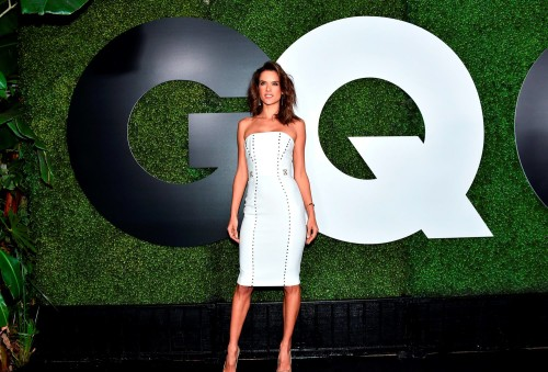 LOS ANGELES, CA - DECEMBER 03: Model Alessandra Ambrosio attends the GQ 20th Anniversary Men Of The Year Party at Chateau Marmont on December 3, 2015 in Los Angeles, California. (Photo by Mike Windle/Getty Images for GQ Magazine)