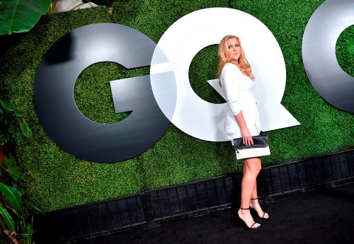 LOS ANGELES, CA - DECEMBER 03: Comedian Amy Schumer attends the GQ 20th Anniversary Men Of The Year Party at Chateau Marmont on December 3, 2015 in Los Angeles, California. (Photo by Mike Windle/Getty Images for GQ Magazine)