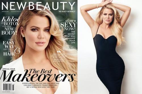 Khloe-Kardashian NEW BEAUTY MAG