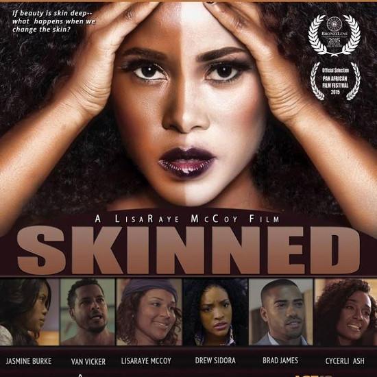 image Movies of light skin black gay man with