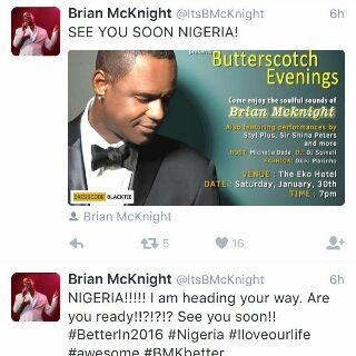 Brian McKnight Tweets