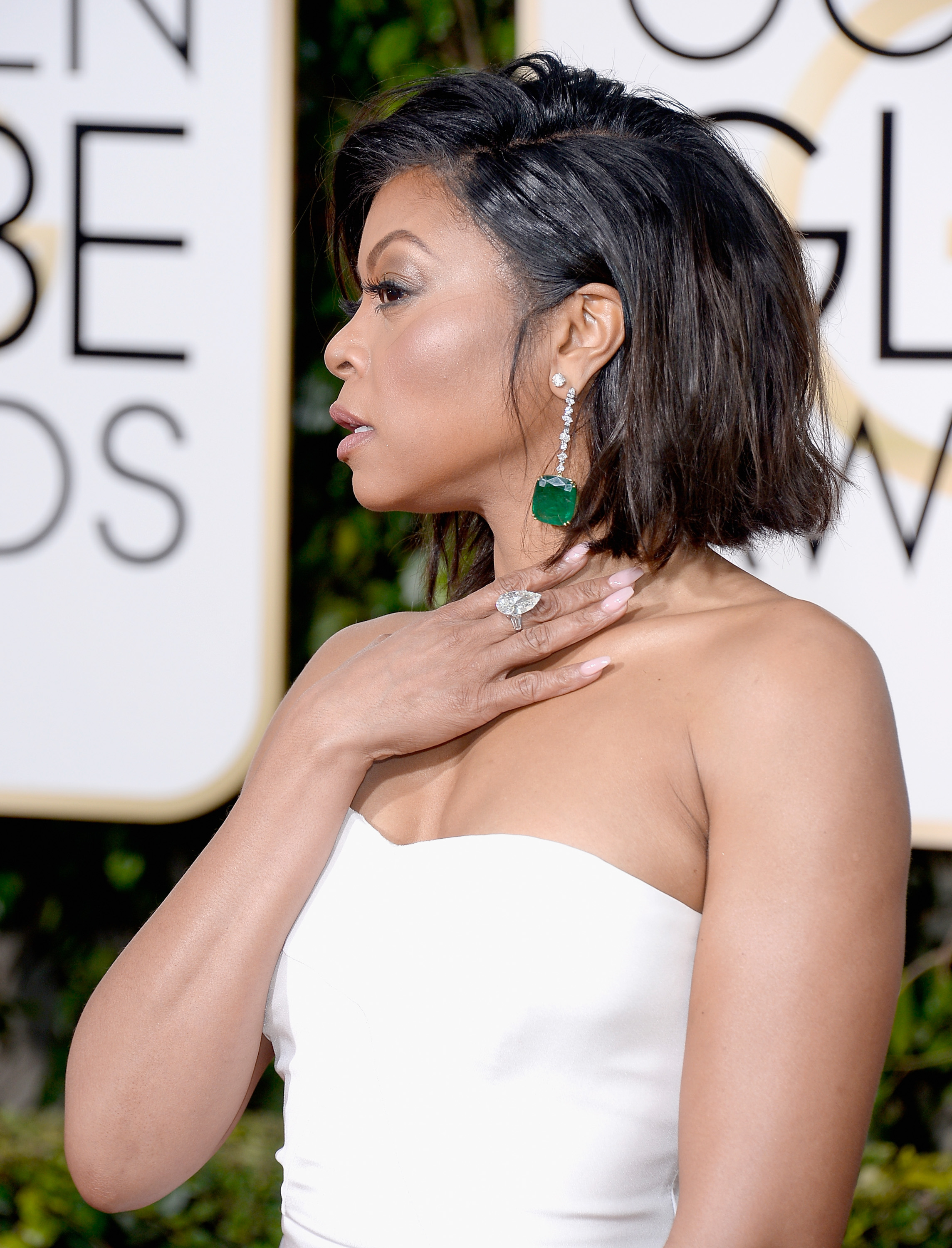 So We Ve Already Admired The Fierce Combination Of Taraji P Henson Winner Best Actress In A Tv Drama Award With White Trained Stella Mccartney