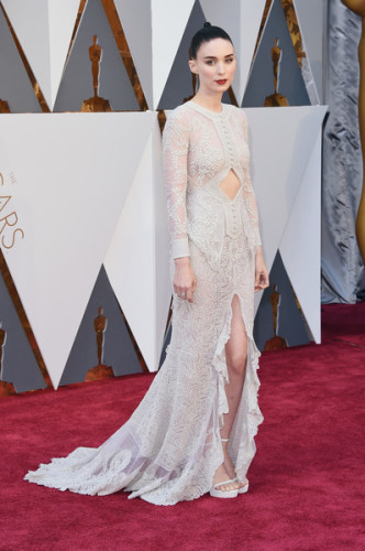 88th+Annual+Academy+Awards+Arrivals+rooney mara givenchy