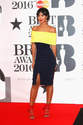 Brit-Awards-2016-Red-Carpet-maya-james