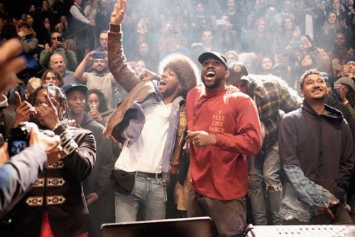 Kanye-West-album launch