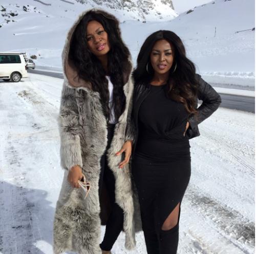 Sandra Ankobiah and Yvonne Okoro
