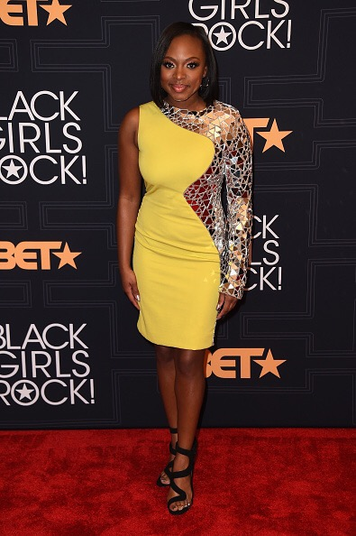 NEWARK, NEW JERSEY - APRIL 01: Singer-songwriter Naturi Naughton attends Black Girls Rock! 2016 on April 1, 2016 in New York City. (Photo by Nicholas Hunt/BET/Getty Images for BET)