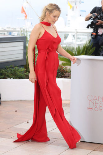 Blake+Lively+Cafe+Society+Photocall+69th+Annual--