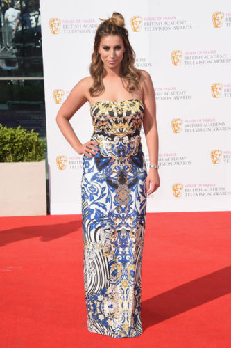 House+Fraser+British+Academy+Television+Awards-Ferne McCann