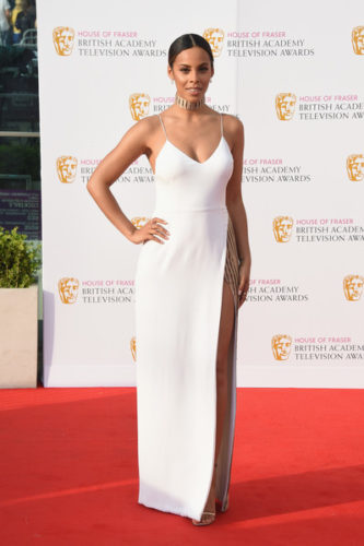 House+Fraser+British+Academy+Television+Awards-Rochelle Humes