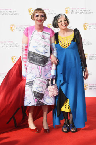 House+Fraser+British+Academy+Television+Awards+Grayson Perry and Phillipa Perry