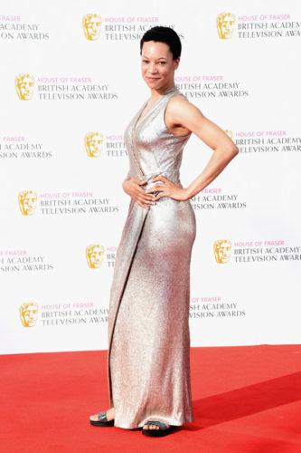 House+Fraser+British+Academy+Television+Awards+Nina Sosanya