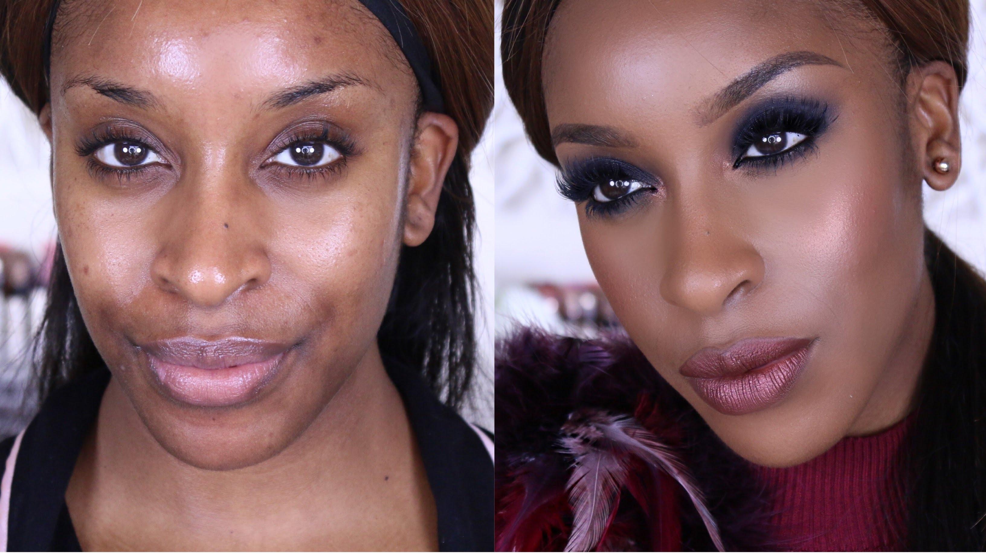 Makeup Tips Get The Dark Classic Smokey Eye Glam Africa