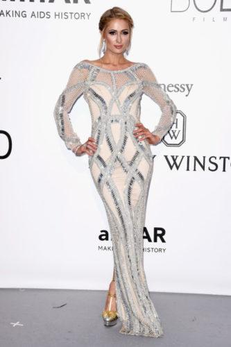 Paris Hilton in Yousef Al Jasmi