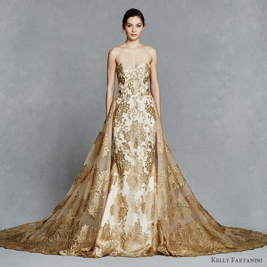 Bridal Trend: Golden Gowns – Glam Africa