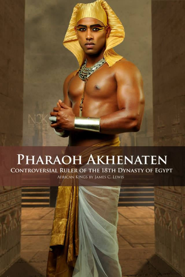 """Pharaoh Akhenaten meaning """"Effective for Aten"""" known before the fifth year of his reign as Amenhotep IV, was a pharaoh of the Eighteenth dynasty of Egypt who ruled for 17 years and died perhaps in 1336 BC or 1334 BC. He is especially noted for abandoning traditional Egyptian polytheism and introducing worship centered on the Aten. Husband of Nefertiti and father of King """"Tut"""" Tutankhamun. 