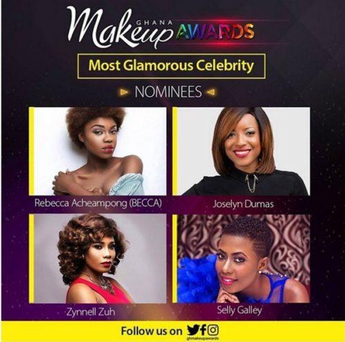 celebs ghana makeup