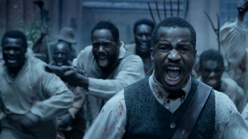 """""""The Birth of a Nation"""" as part of the BFI's Headline Gala. Staring Nate Parker, Armie Hammer, Aunjanue Ellis, Aja Naomi King, Gabrielle Union. Nate Parker's monumental tour-de-force – he produces, directs, writes and gives a scorching performance in the lead role – is a gruelling account of the life of Nat Turner, an enslaved African American and ordained preacher who led a slave revolt in Virginia in 1831."""