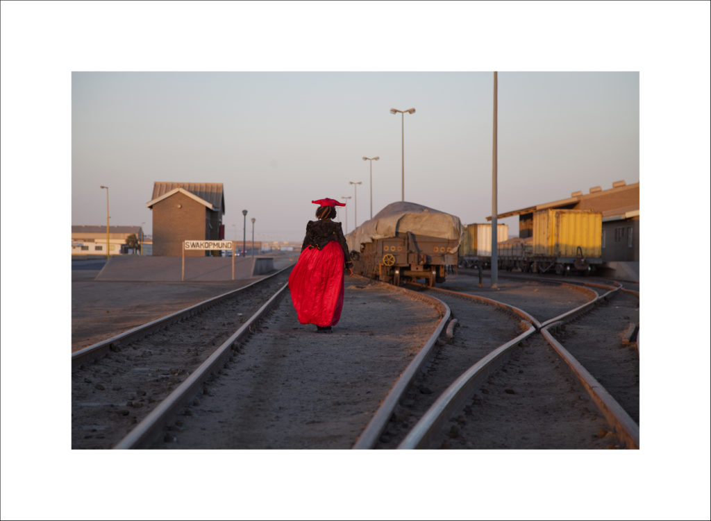Nicola Brandt, Remembering Those Who Built This Line, Swakopmund, Namibia, 2012, Digital pigment Print, 75 x 55 cm, Courtesy the artist and the gallery