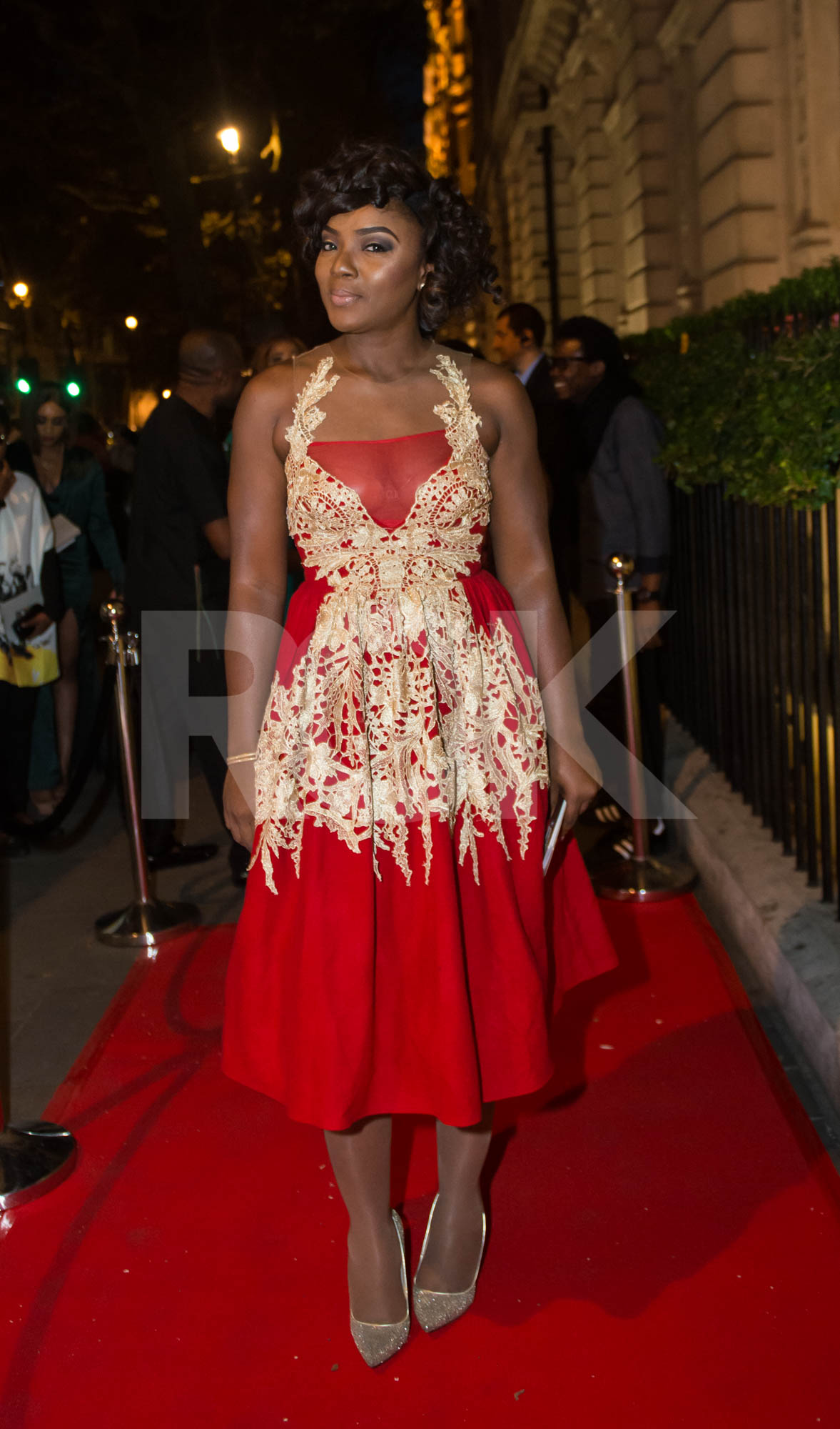 Chioma Akpotha in Nigerian designer Shakara Couture