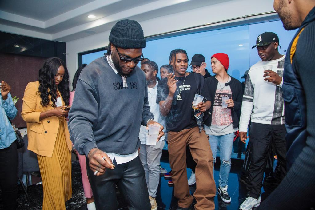 African Giant' Album Listening By Burna Boy – Wale, Akon