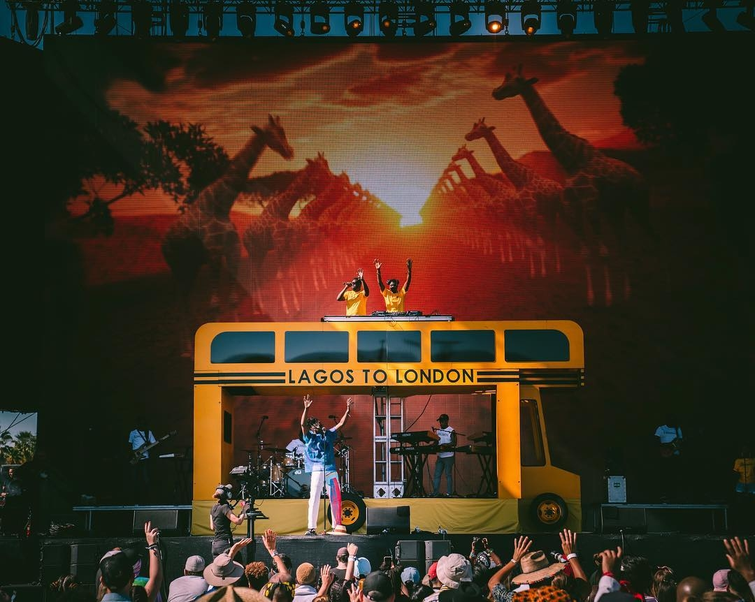 Check Out Mr Eazi's Peformance At 2019 Coachella Valley
