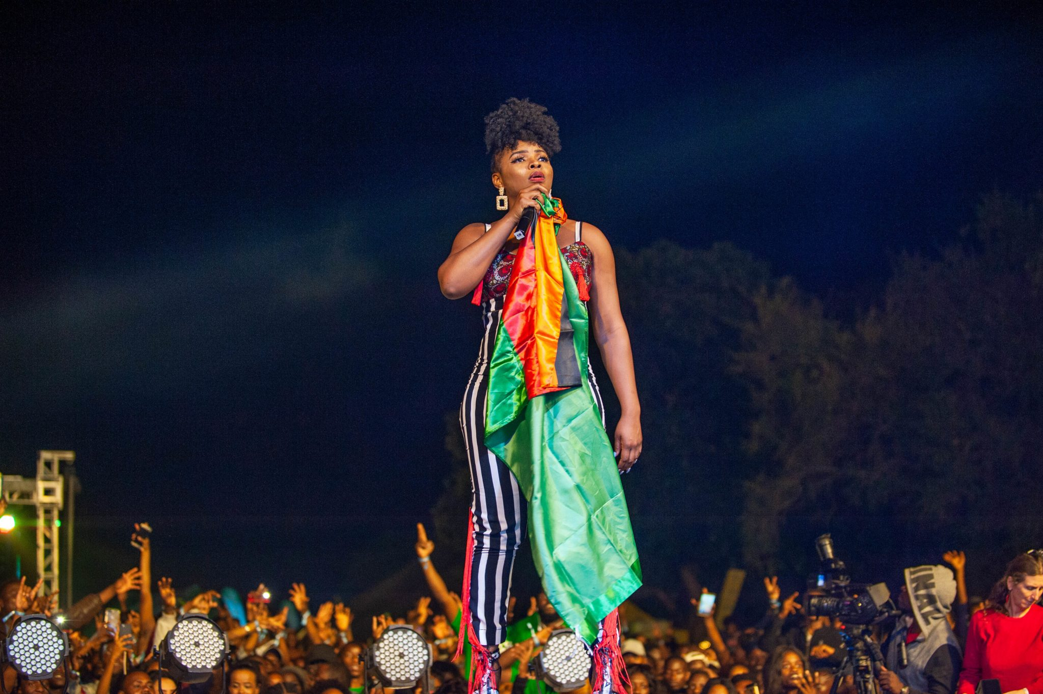 Yemi Alade Headlines 'Mosi Day Of Thunder' In Zambia With