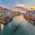 Sunset Gondola ride in Venice