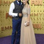Terrence Howard and Mira Howard at Emmy Awards 2019.