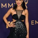 Nathalie Emmanuel at Emmy Awards 2019.