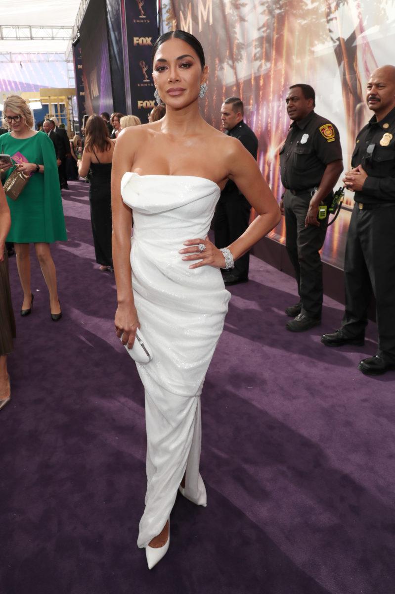 Nicole Scherzinger at Emmy Awards 2019.