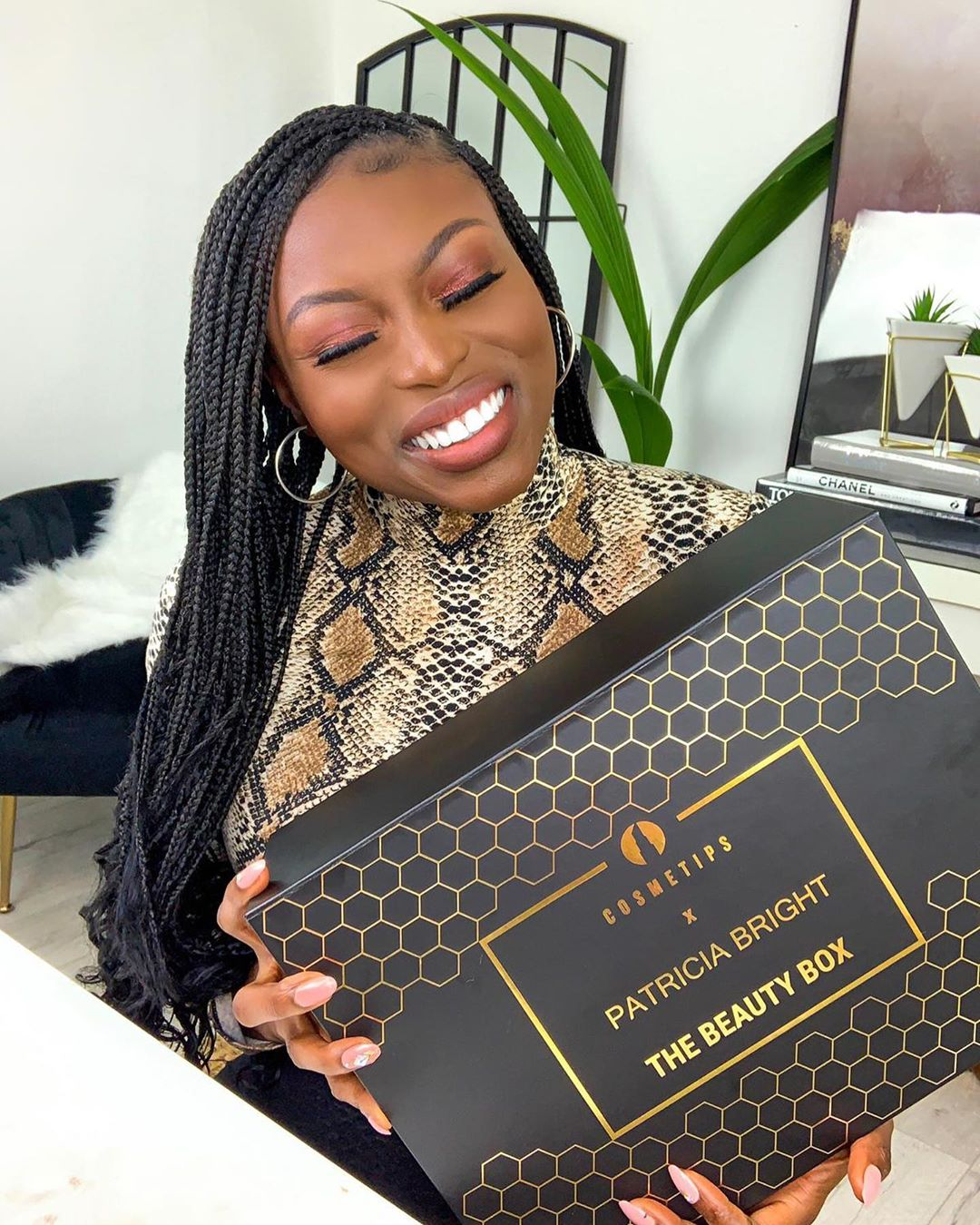 Patricia Bright launches beauty box