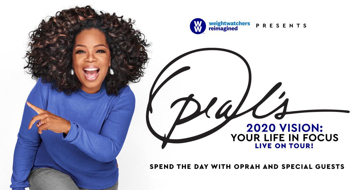 Oprah Winfrey To Kick Off 'Oprah's 2020 Vision: Your Life in Focus' Tour