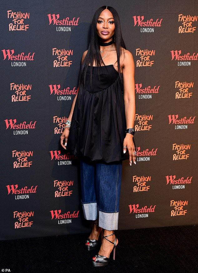Naomi Campbell Launches Fashion For Relief Pop-up Store In London
