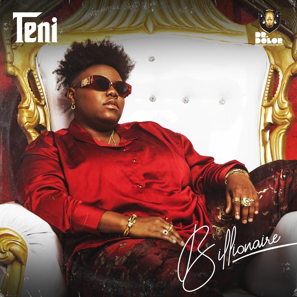 Cover art for 'Billionaire' EP By Teni