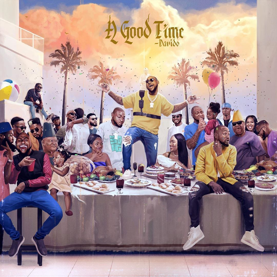 Cover art for A Good Time by Davido