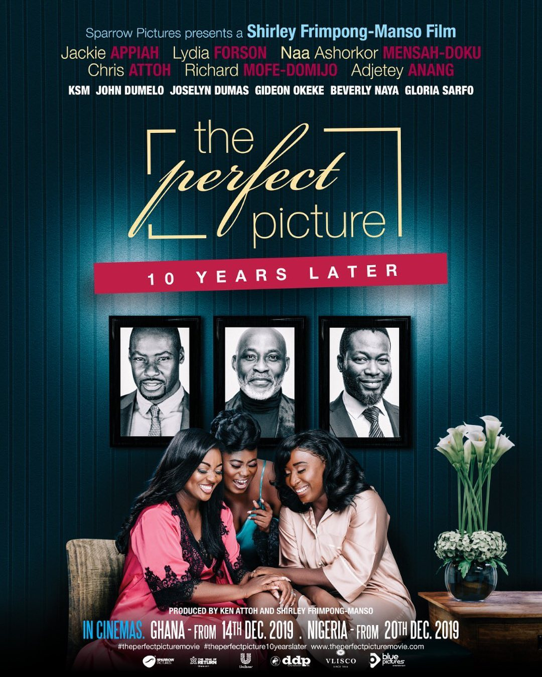 The official poster for The Perfect Picture by Shirley Frimpong-Manso