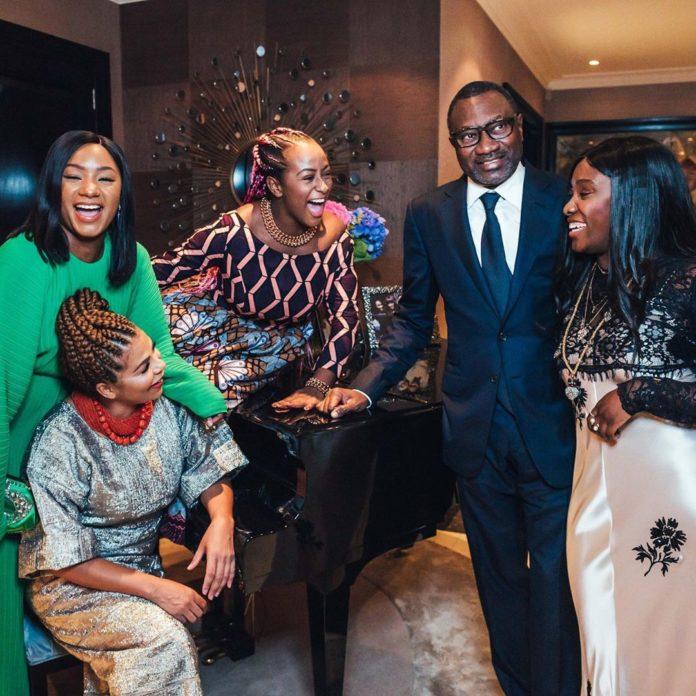 BillionaireFemi Otedola Had Dinner AtBuckingham Palace With His Family