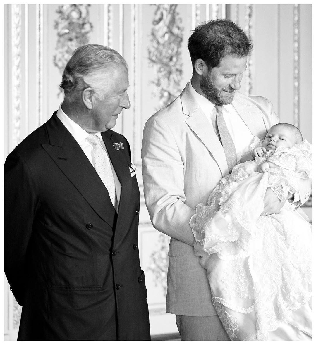 Meghan Markle & Prince Harry Release Unseen Picture Of Archie To Celebrate Prince Charles's Birthday