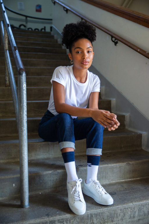 Yara Shahidi Partners Bombas For 'Unite Collection'