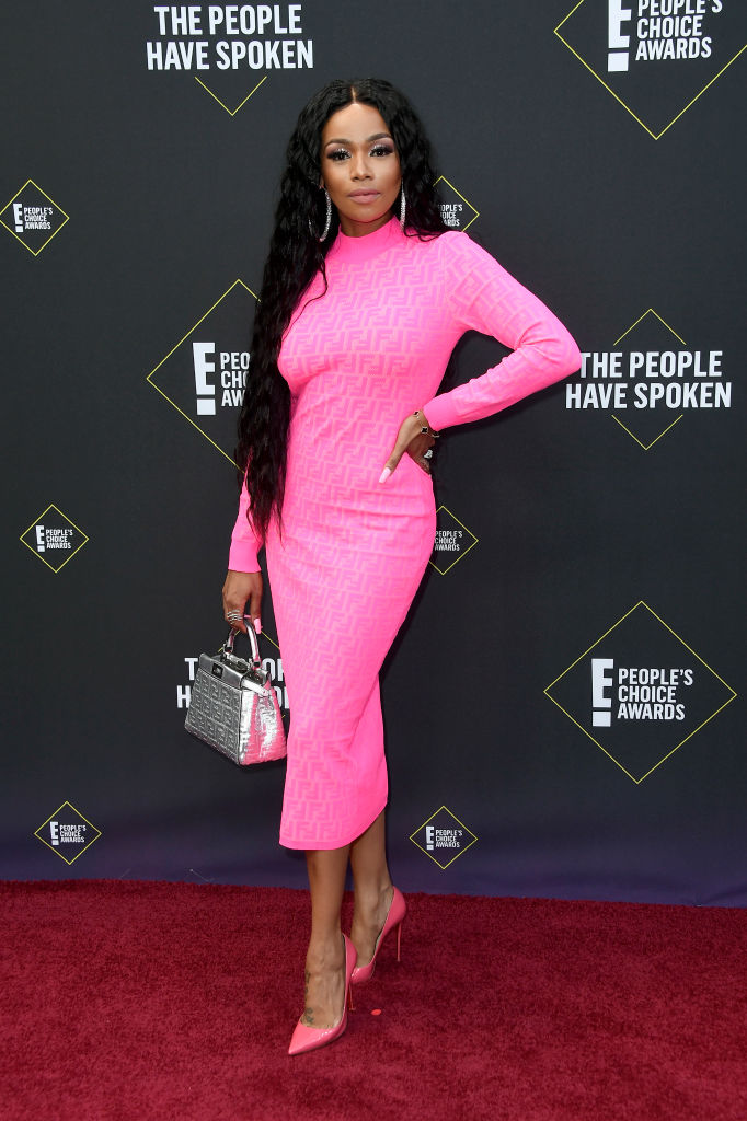 Bonang Matheba At E! People's Choice Awards 2019 red carpet.