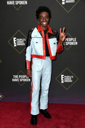 Caleb McLaughlin At E! People's Choice Awards 2019 red carpet.