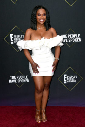 Kandi Burruss At E! People's Choice Awards 2019 red carpet.