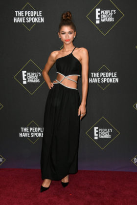 Zendaya At E! People's Choice Awards 2019 red carpet.